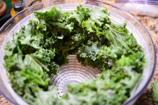 dry kale